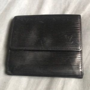 LV used tri-fold wallet